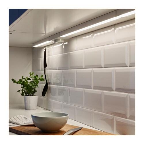 Utrusta led worktop lighting white 60 cm ikea for Ikea luci led