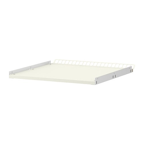 UTRUSTA Reinforced ventilated shelf IKEA 25 year guarantee.   Read about the terms in the guarantee brochure.