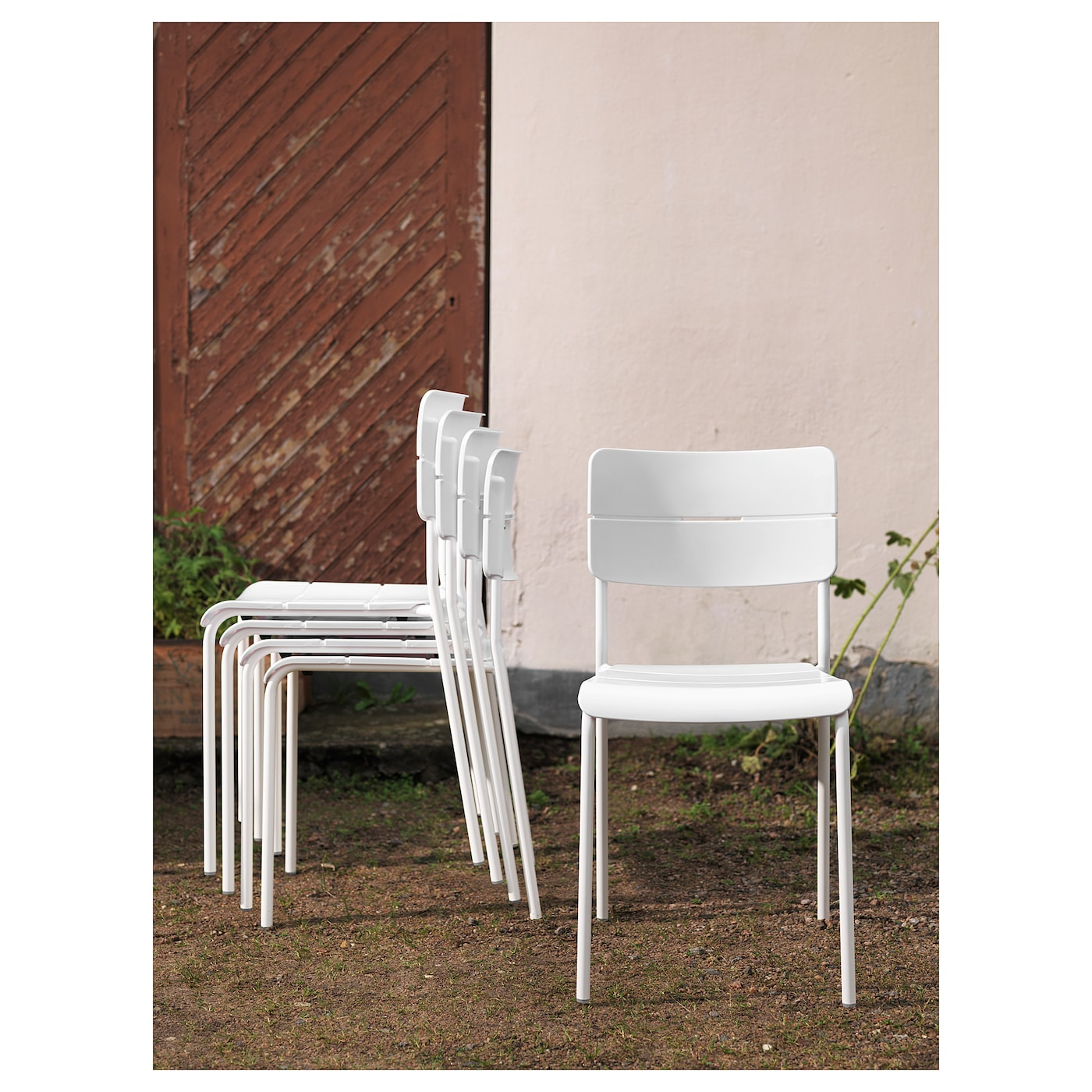 Ikea VÄddÖ Chair Outdoor Easy To Keep Clean Just Wipe With A Damp Cloth