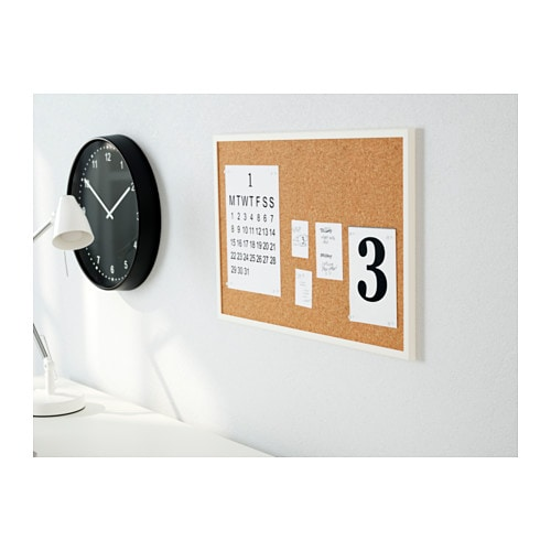v ggis noticeboard white 58x39 cm ikea. Black Bedroom Furniture Sets. Home Design Ideas