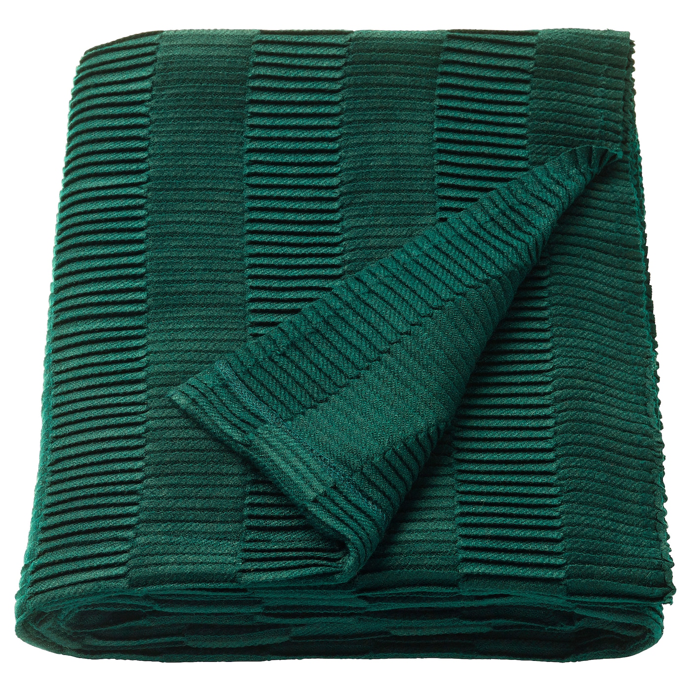 Home Décor Nautical Green And White Striped Cotton Blanket With Green Tassels Home & Garden