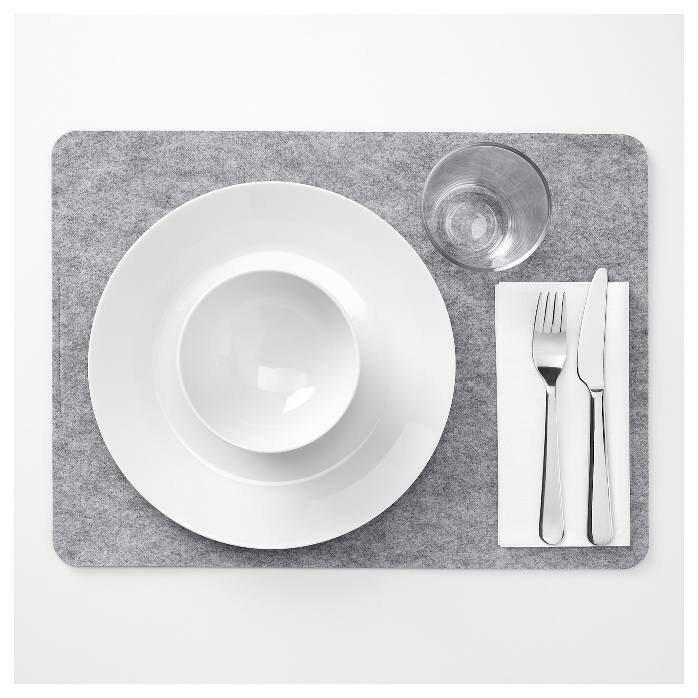 IKEA VÄLBEHÅLL place mat Protects the table top surface and reduces noise from plates and cutlery.