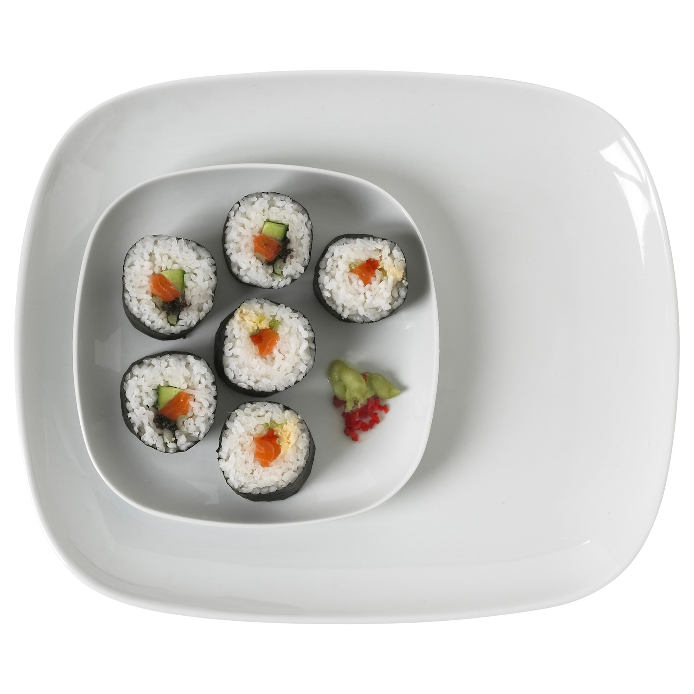 IKEA VÄRDERA plate Made of feldspar porcelain, which makes the plate impact resistant and durable.