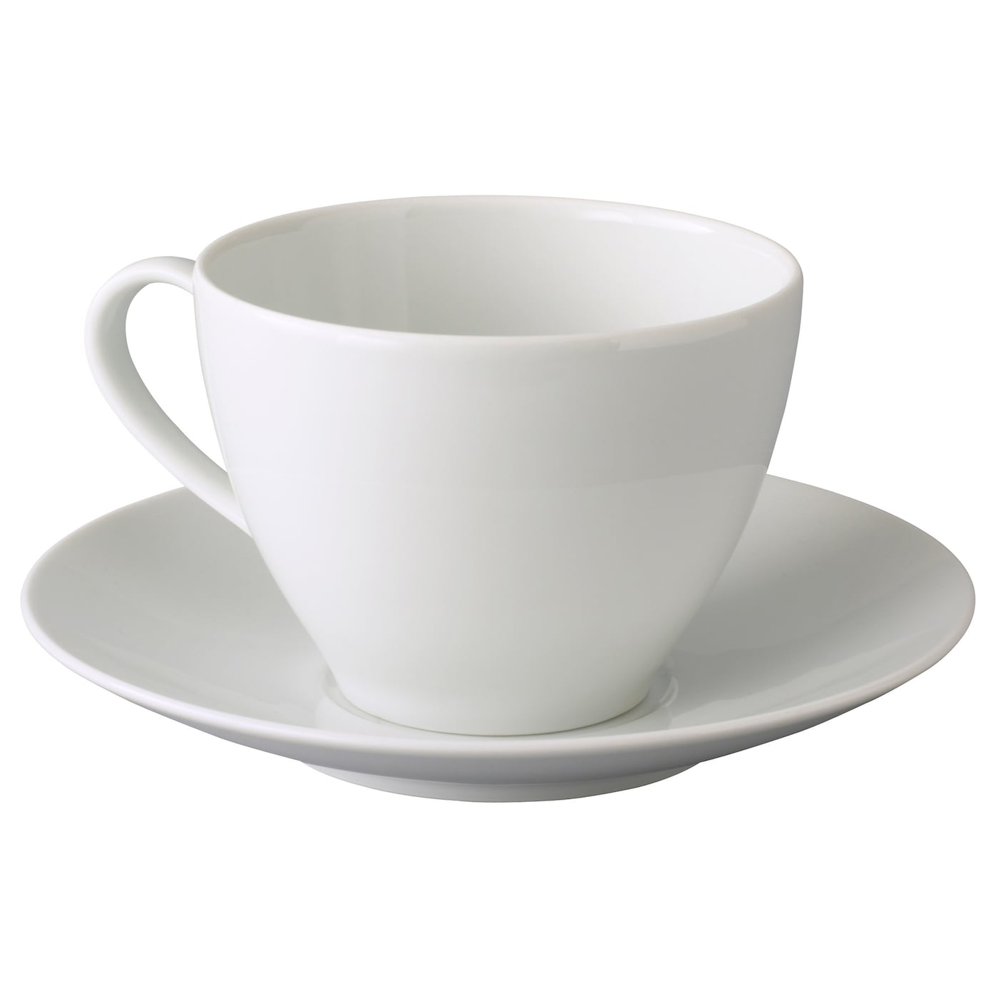 v rdera teacup with saucer white 36 cl ikea. Black Bedroom Furniture Sets. Home Design Ideas