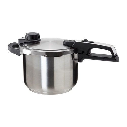 IKEA VÄRDESÄTTA pressure cooker Pressure cooking preserves flavours and vitamins in the food.