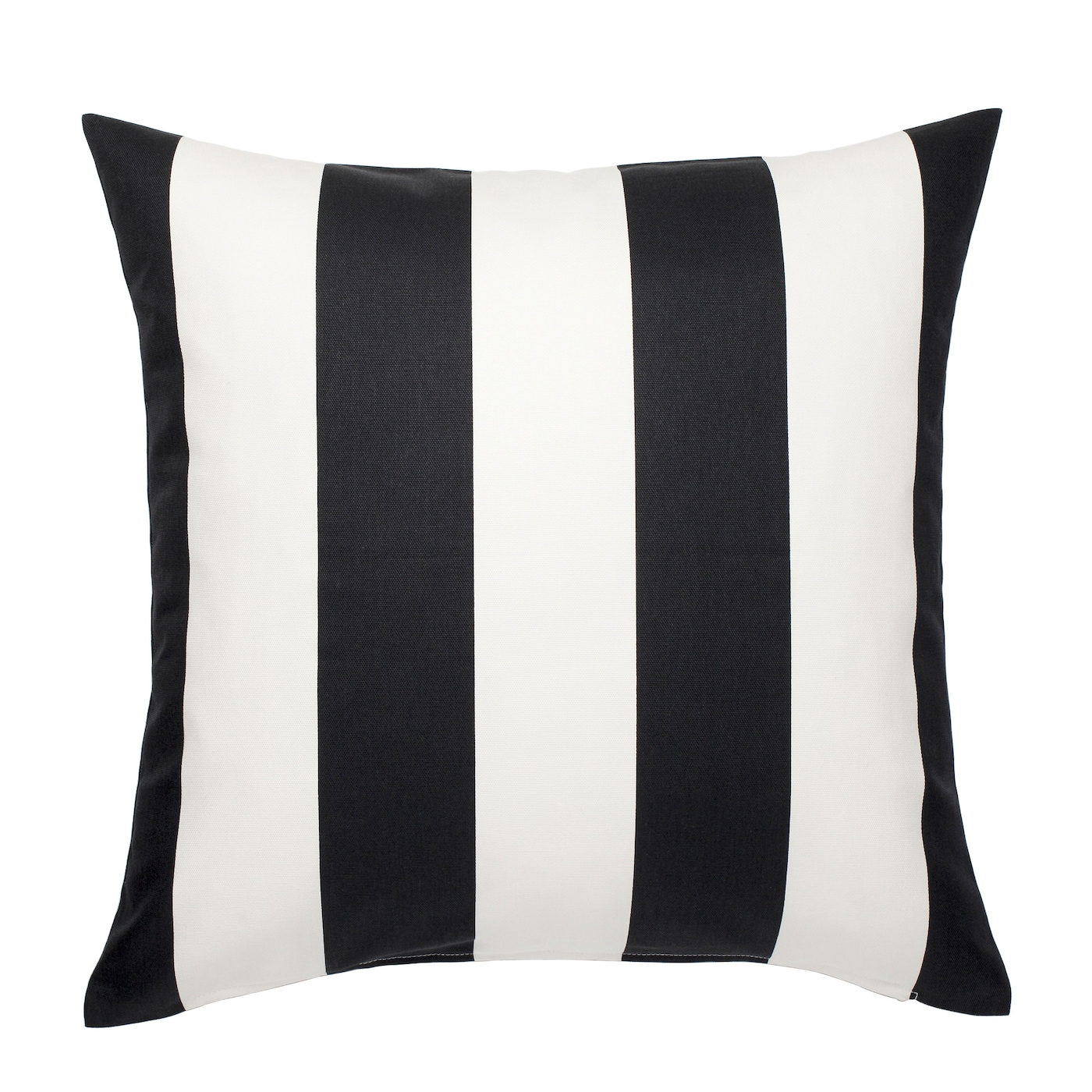 V…RGYLLEN Cushion cover White black 50x50 cm IKEA