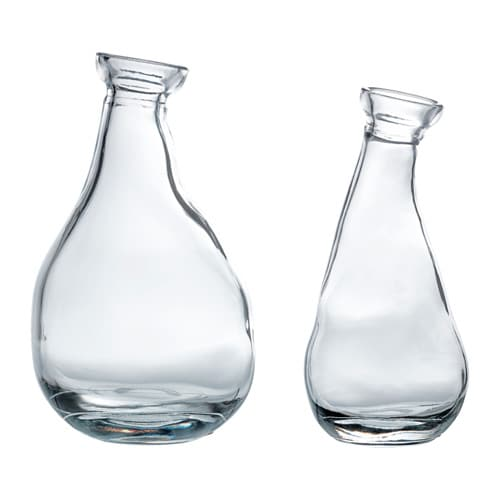IKEA VÅRVIND vase, set of 2
