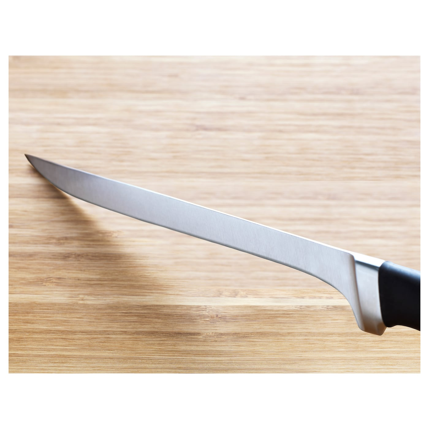 IKEA VÖRDA filleting knife Handle in a design and material providing a firm grip.