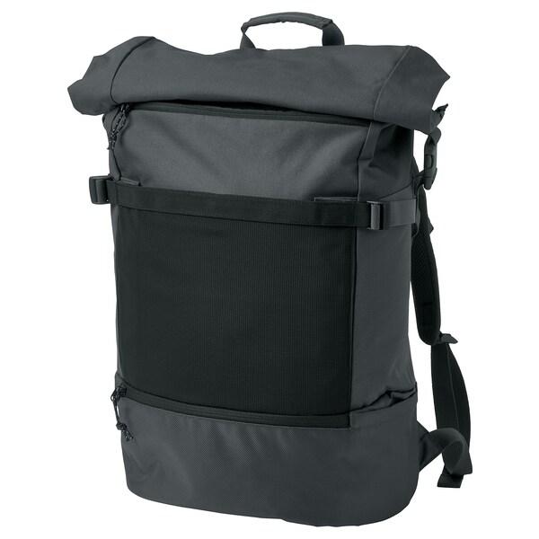 VÄRLDENS Backpack, dark grey, 26 l