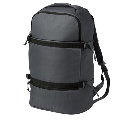VÄRLDENS Backpack, dark grey, 36 l