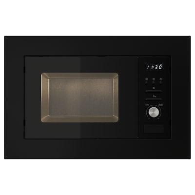 VÄRMD Microwave oven, black