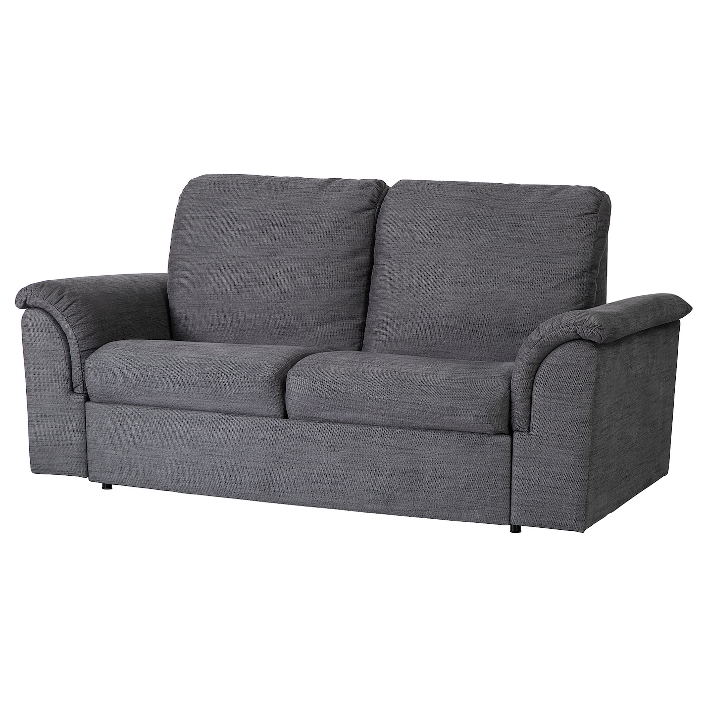 2-seat sofa-bed VÄSTBY Hensta grey