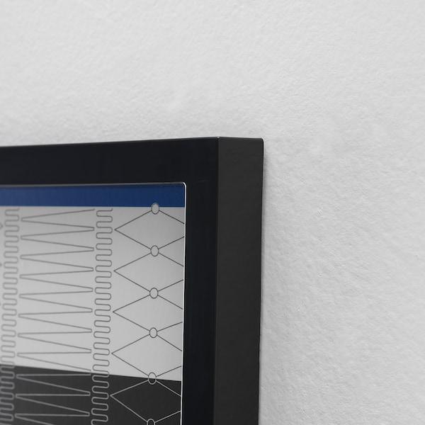VÄXBO Collage frame for 8 photos, black, 13x18 cm