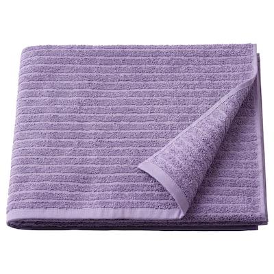 VÅGSJÖN Bath towel, purple, 70x140 cm