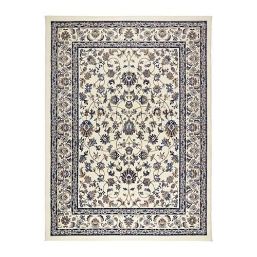 X  Blue Dining Room Rug Low Pile