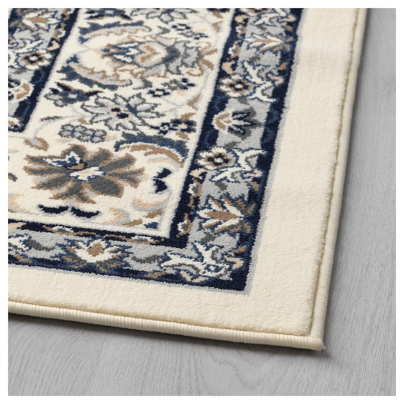 IKEA VALLÖBY rug, low pile The thick pile dampens sound and provides a soft surface to walk on.