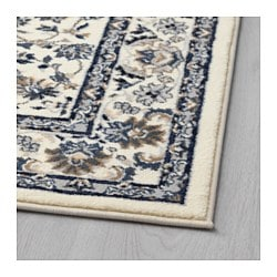 Vall 214 By Rug Low Pile Beige Blue 80x180 Cm Ikea