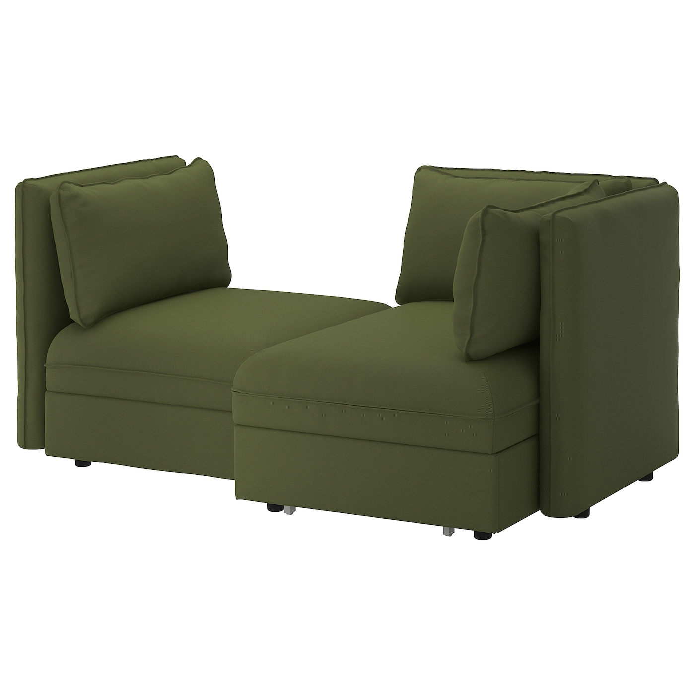Ikea Vallentuna 2 Seat Modular Sofa With Bed