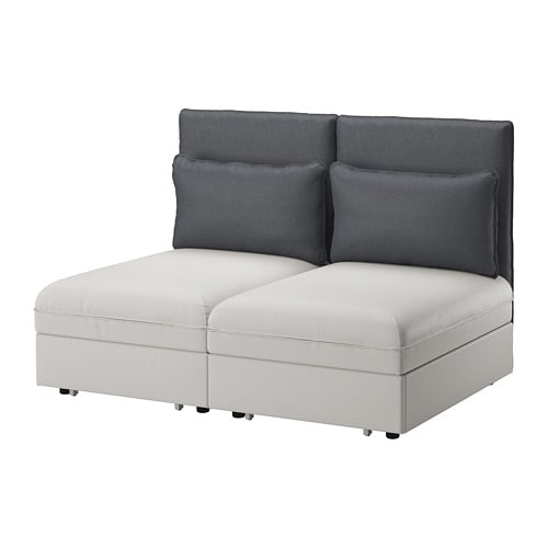 Ikea Vallentuna 2 Seat Sofa With Bed This Combination Converts Easily Into A