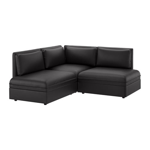 leather sofas faux leather sofas ikea. Black Bedroom Furniture Sets. Home Design Ideas