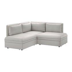 Ikea Vallentuna 3 Seat Corner Sofa With Bed
