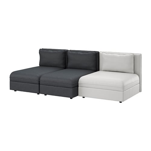 Ikea grey sofa