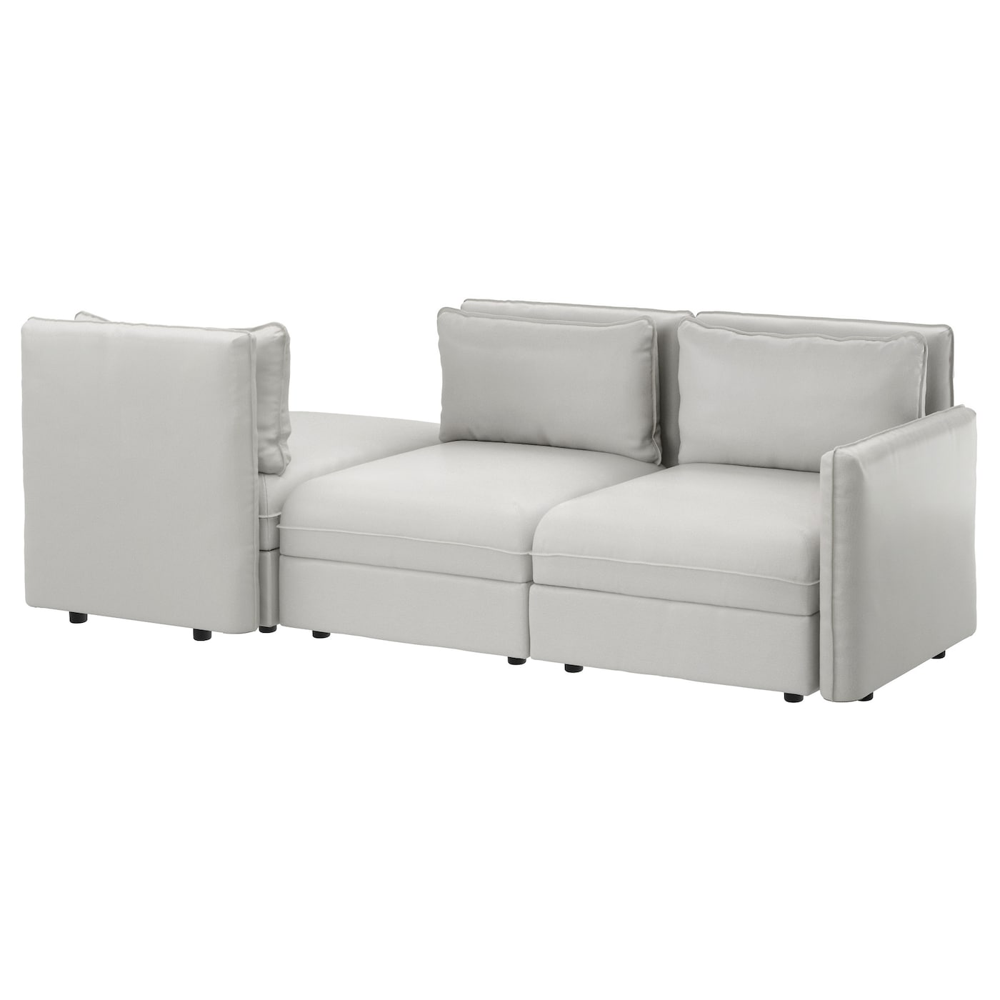 IKEA VALLENTUNA 3-seat sofa with bed