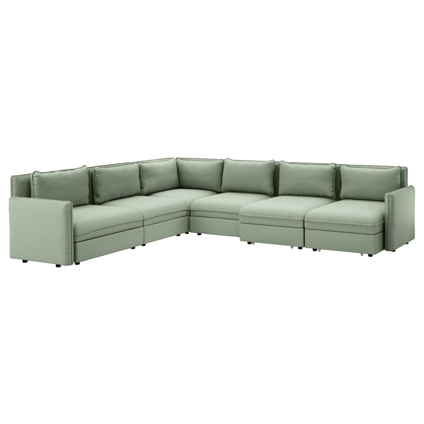 Ikea Vallentuna 6 Seat Corner Sofa With Bed