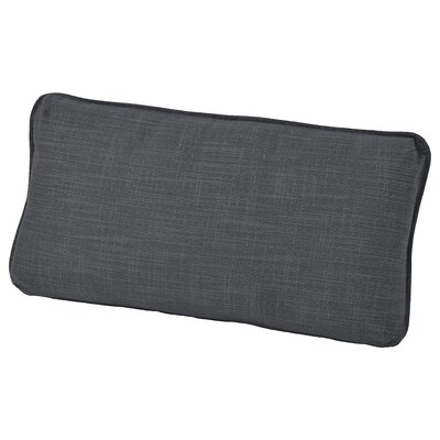 VALLENTUNA Back cushion, Hillared dark grey
