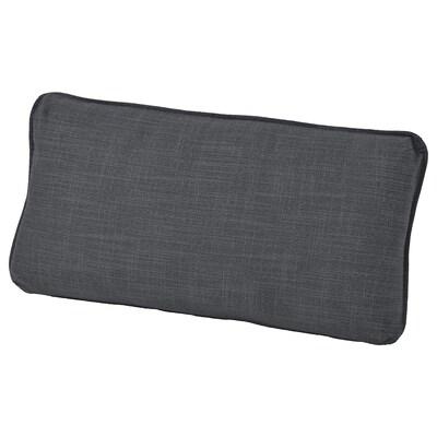 VALLENTUNA Back cushion, Hillared dark grey