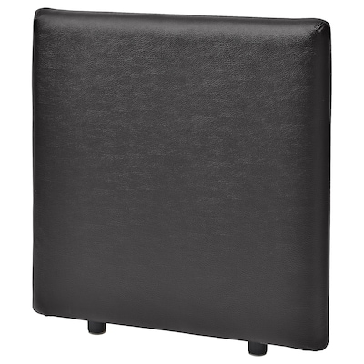 VALLENTUNA Backrest, Murum black, 80x80 cm