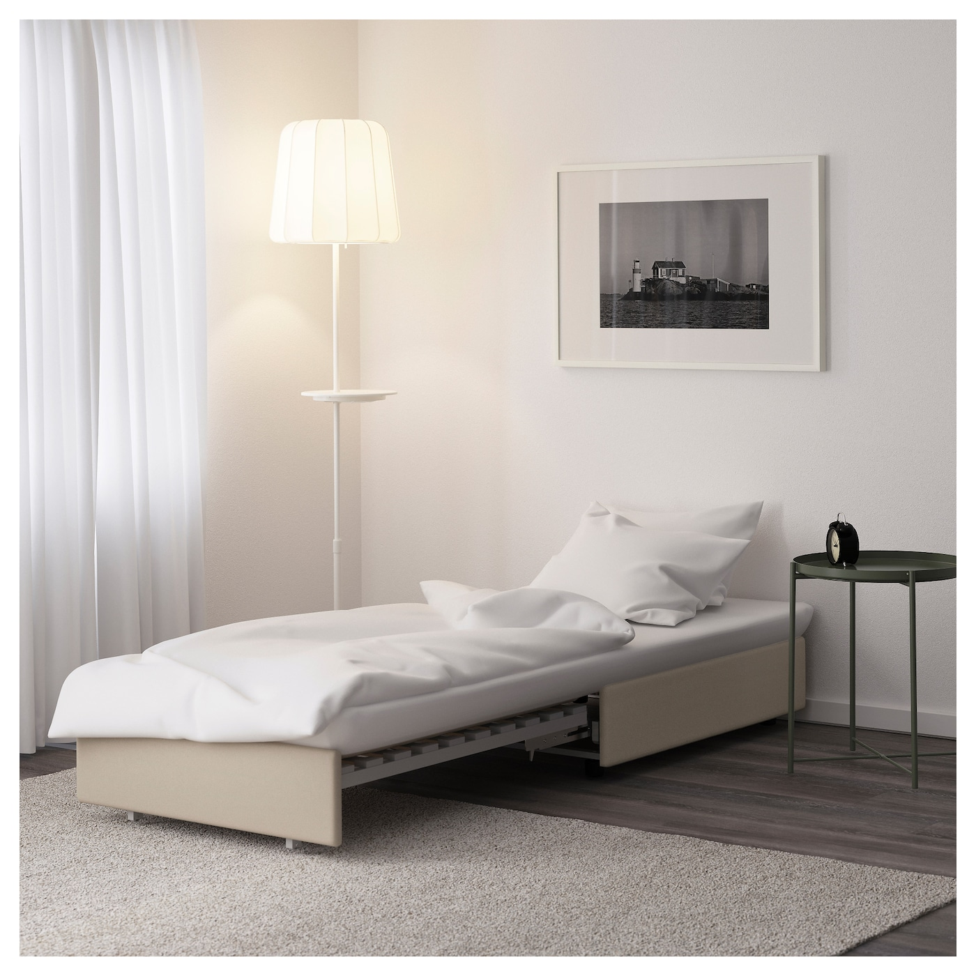 IKEA VALLENTUNA seat module with bed Readily converts into a bed.