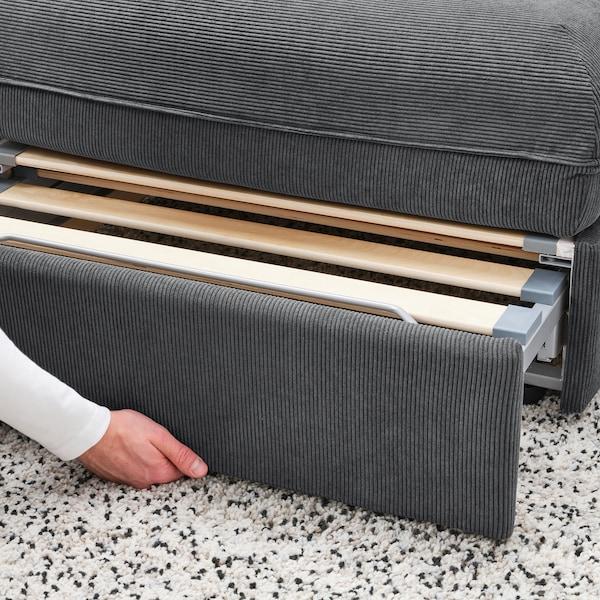 VALLENTUNA Sofa-bed module, Kelinge anthracite