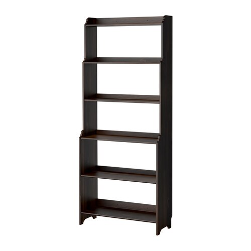 VALLVIK Bookcase IKEA Solid wood, a durable natural material.