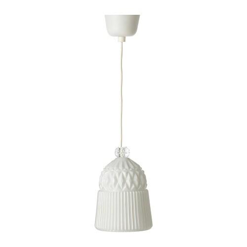 Ranarp Pendant Lamp Black 38 Cm: Ceiling Lights & LED Ceiling Lights