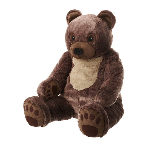 VANDRING BJÖRN Soft toy IKEA Big, cuddly bear that stimulates your child's imagination and encourages a love of nature.