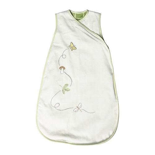 VANDRING Sleeping bag , white, green Length: 72 cm Width: 44 cm