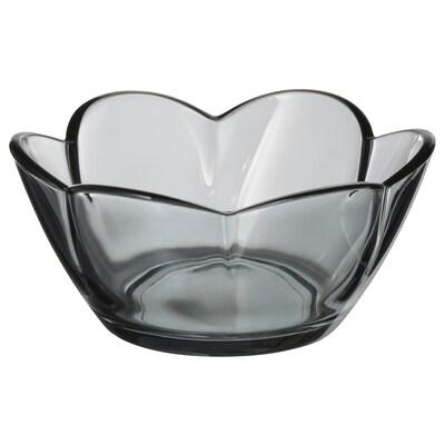 VANLIGEN Tealight holder, grey, 4 cm