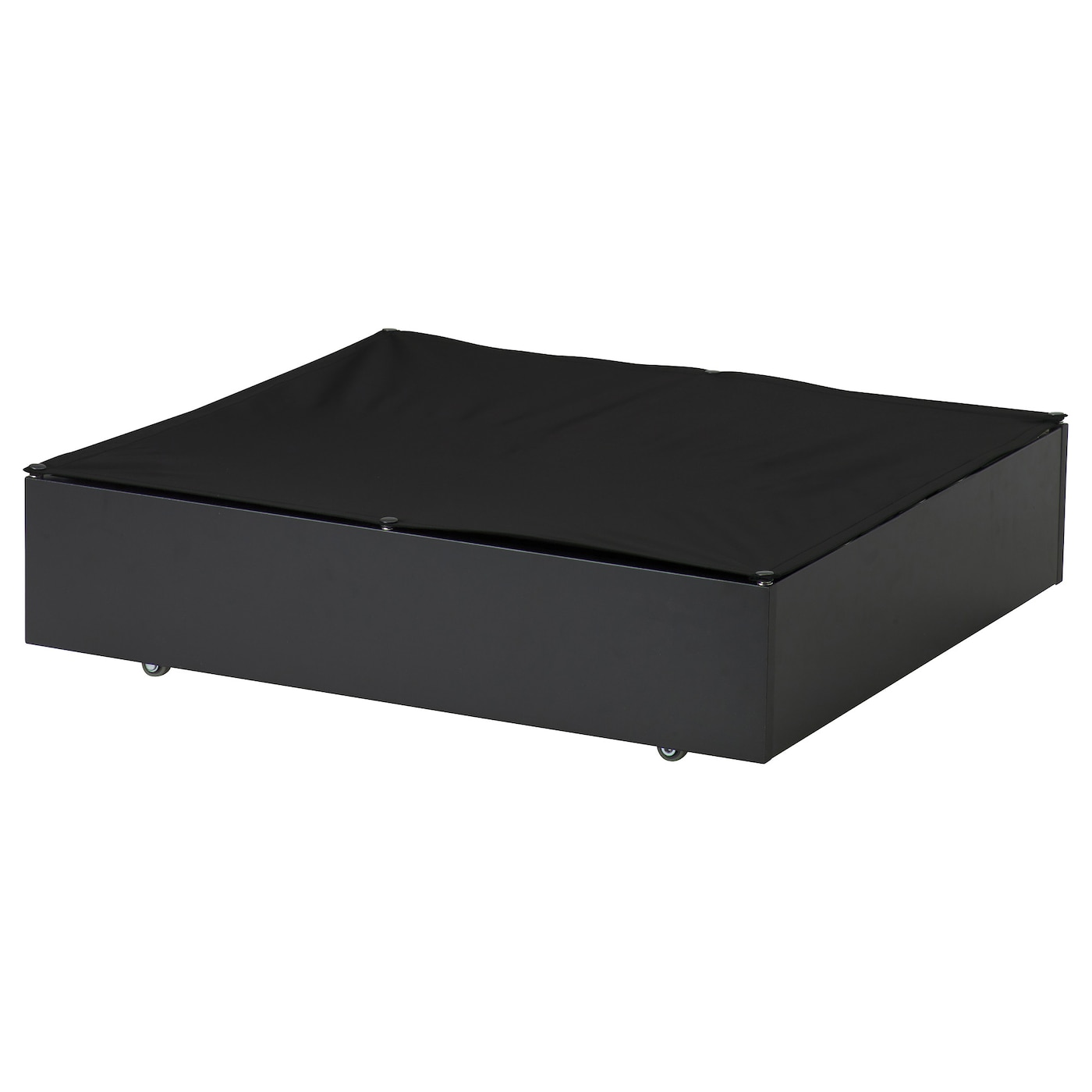 vard bed storage box black 65x70 cm ikea. Black Bedroom Furniture Sets. Home Design Ideas