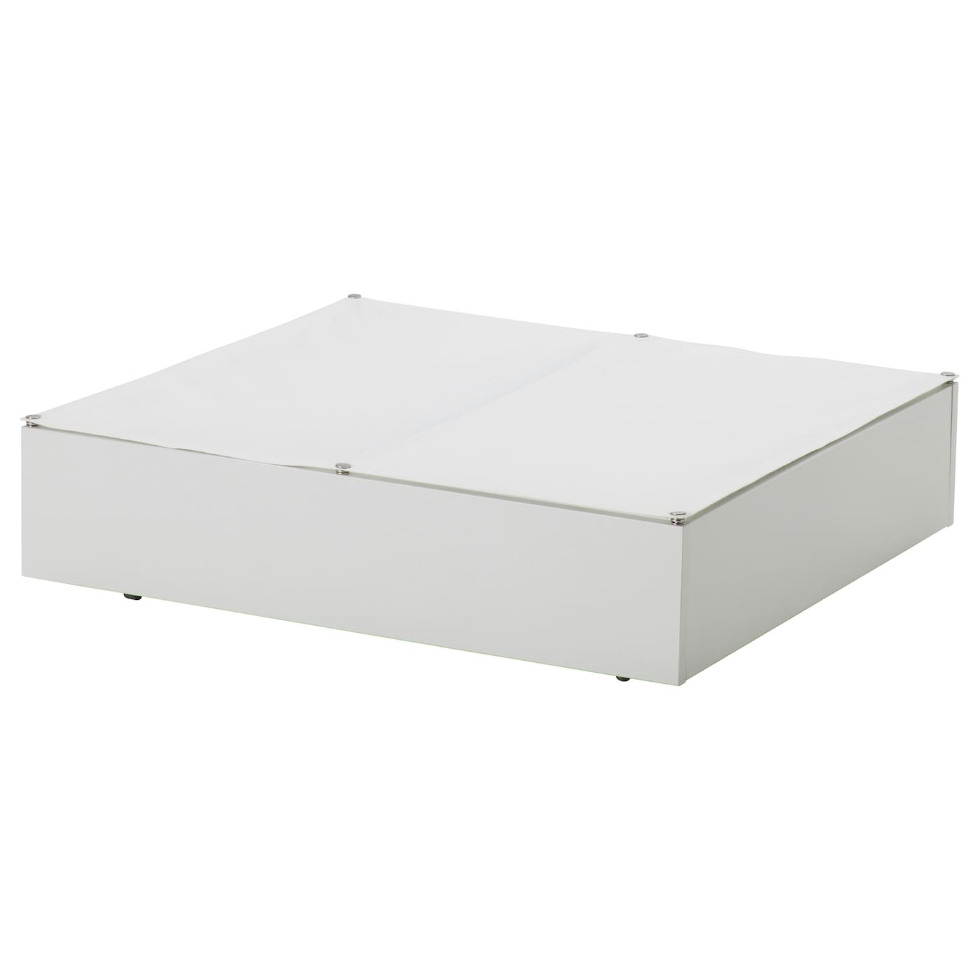 vard bed storage box white 65x70 cm ikea. Black Bedroom Furniture Sets. Home Design Ideas