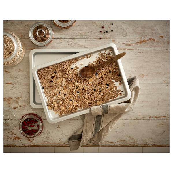 VARDAGEN Baking tin, silver-colour, 38x26 cm/2.0 l