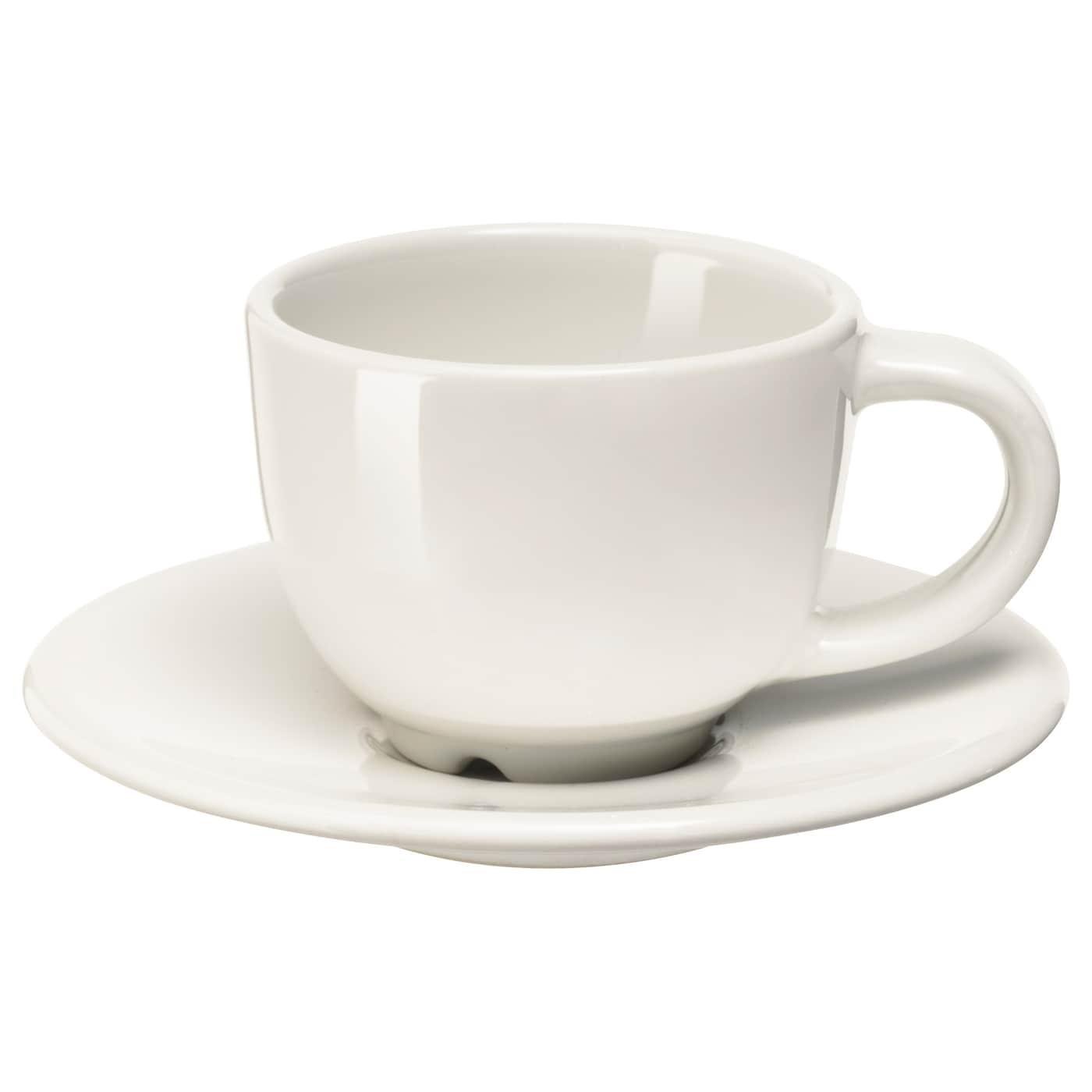 Ikea Vardagen Espresso Cup And Saucer