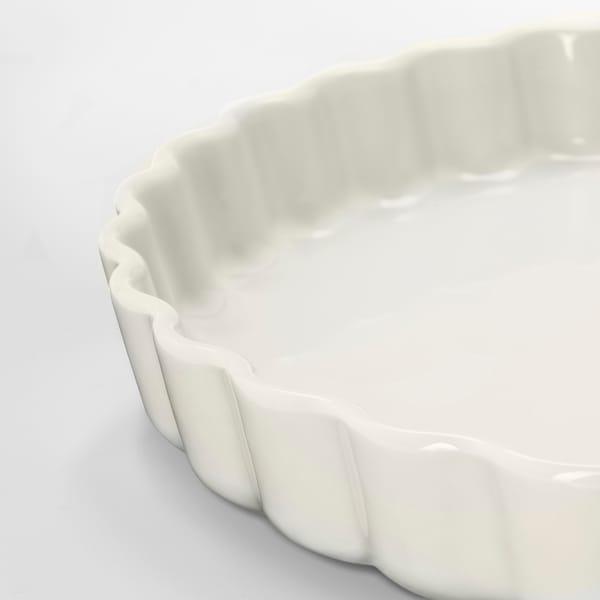 VARDAGEN Pie dish, off-white, 32 cm