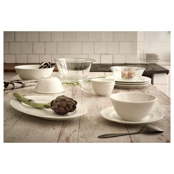 VARDAGEN Serving bowl, off-white, 24 cm