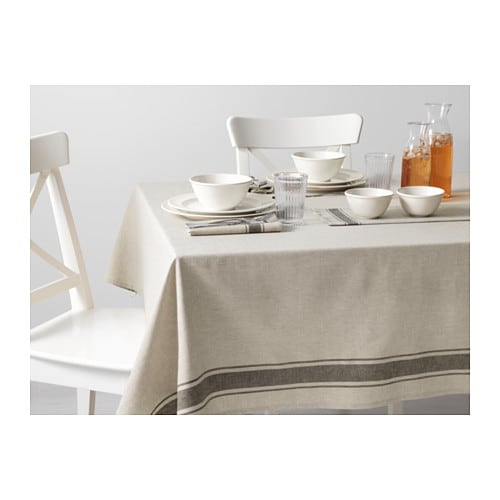 vardagen tablecloth beige 145x145 cm ikea On ikea table runners tablecloths