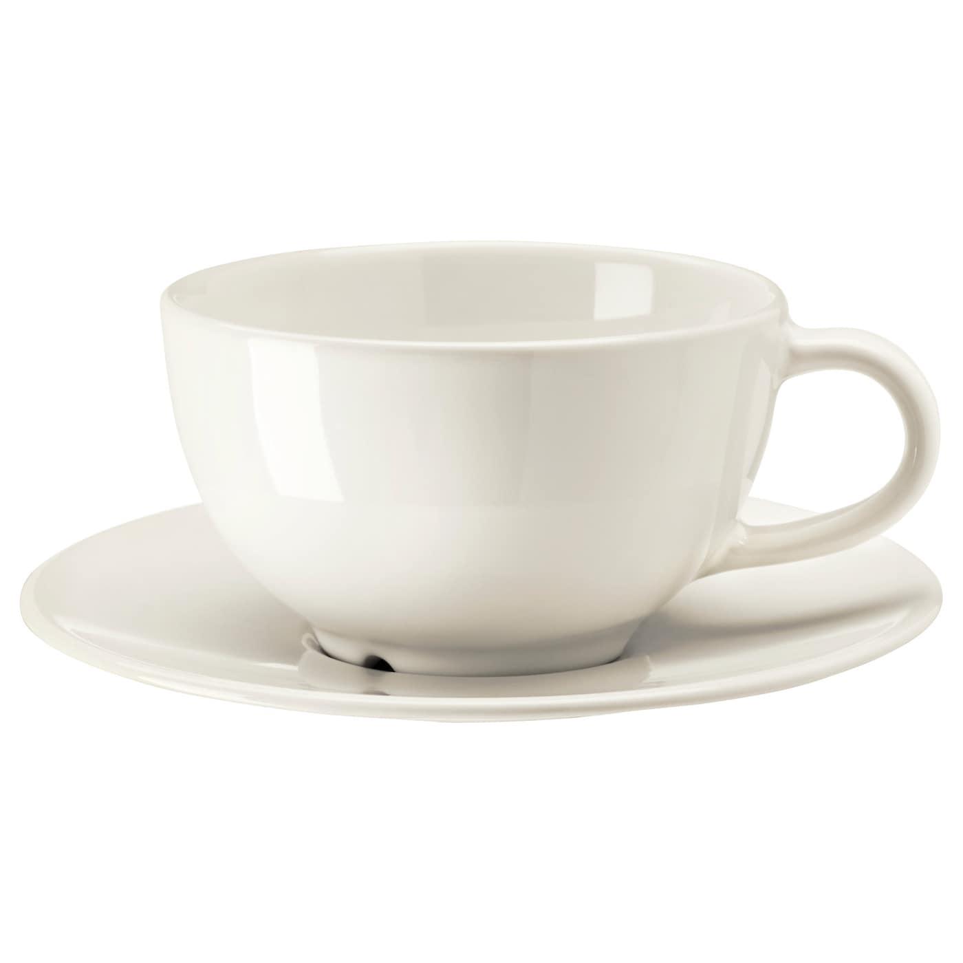 Ikea Vardagen Teacup With Saucer