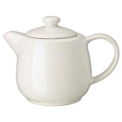 VARDAGEN teapot off-white 15 cm 1.2 l