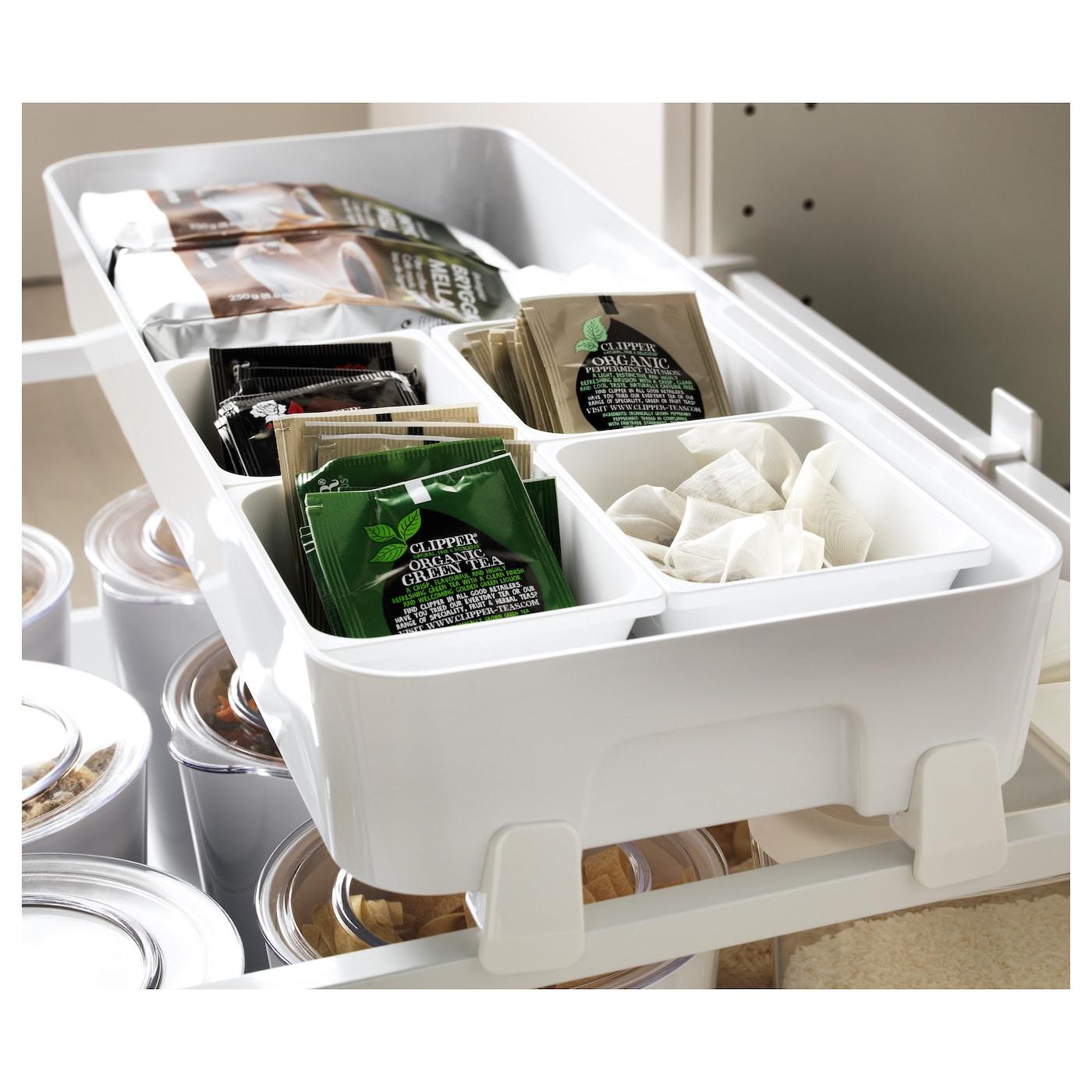 Variera box white 60 cm ikea - Ikea schubladen organizer ...