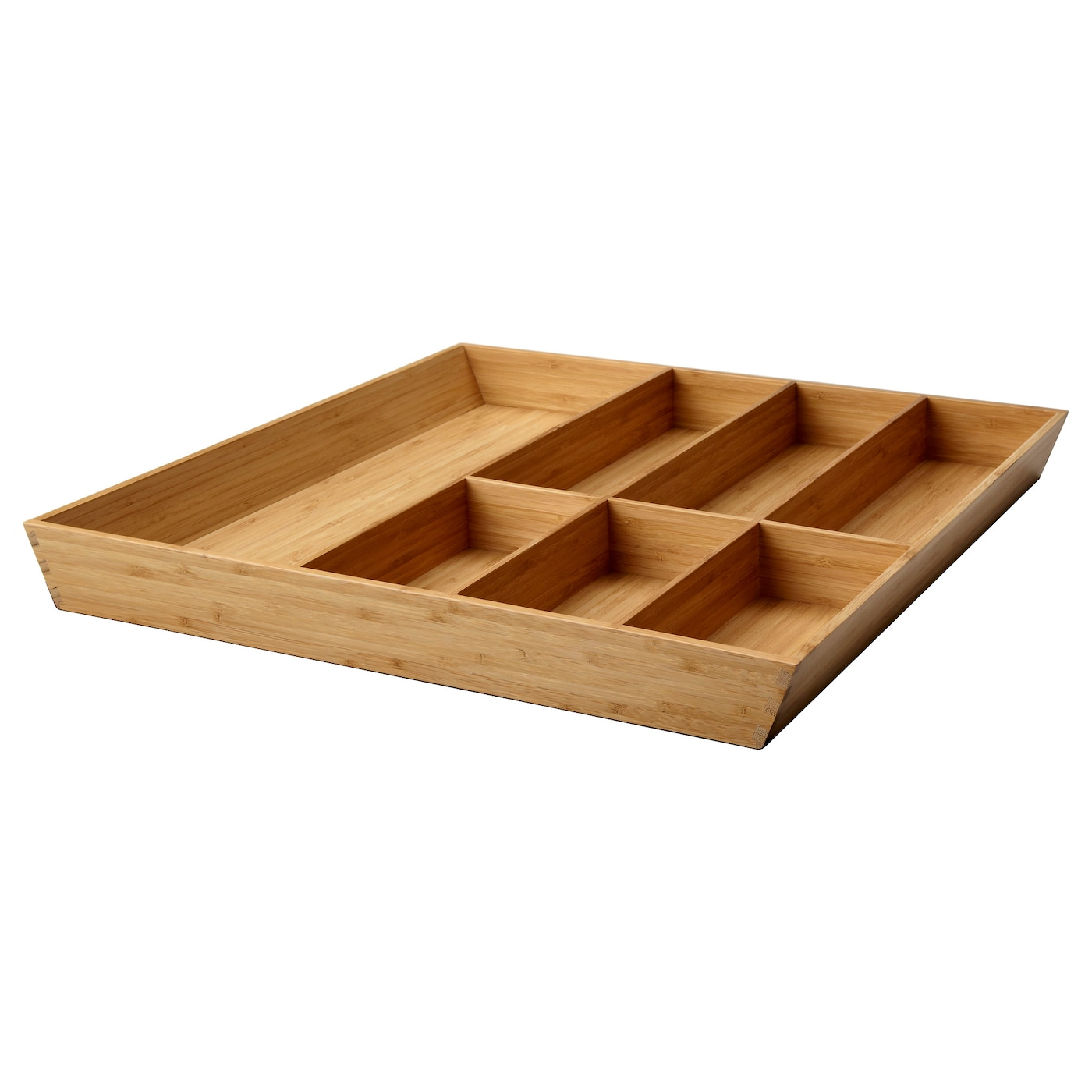 IKEA VARIERA cutlery tray Solid wood is a hardwearing natural material.