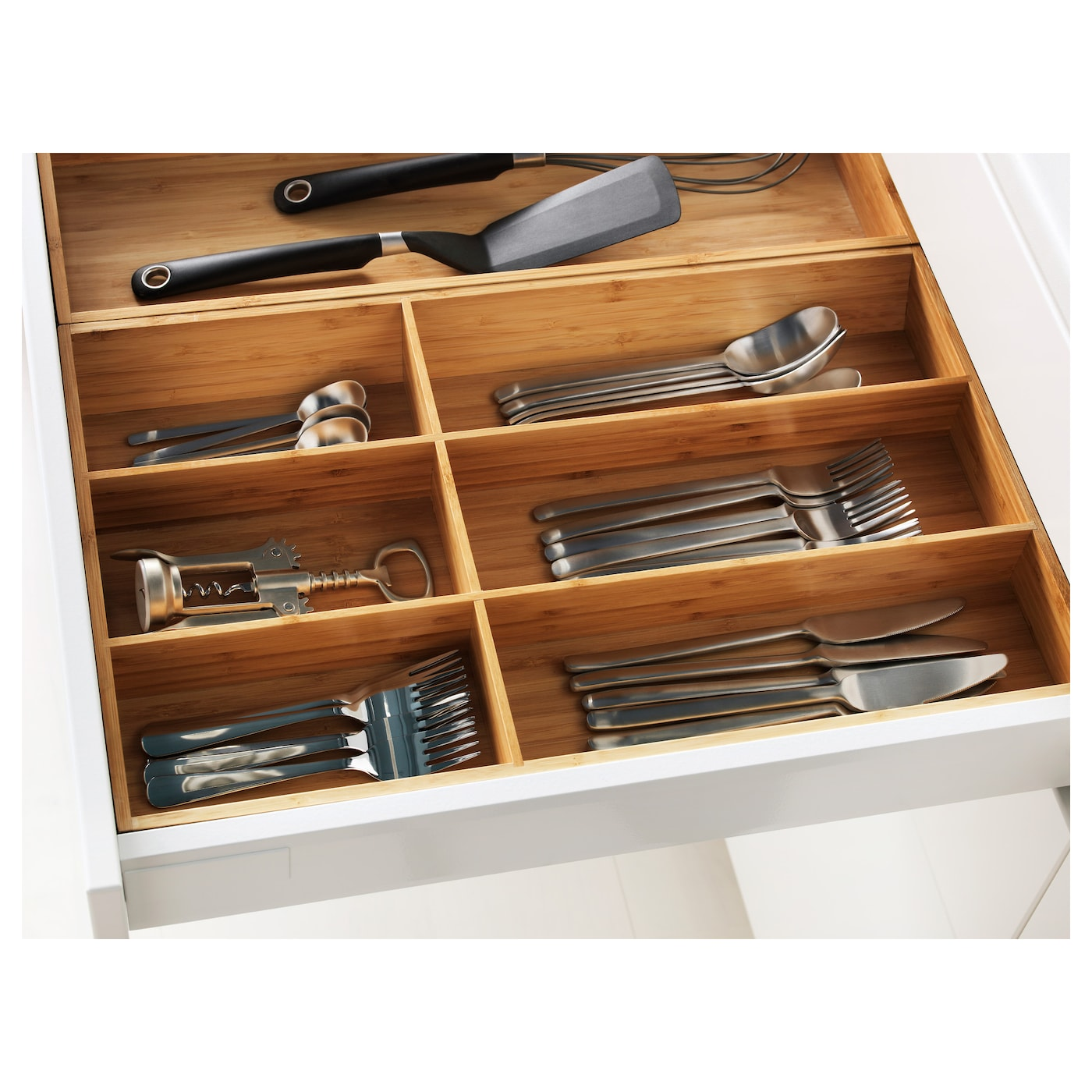 variera cutlery tray bamboo 32x50 cm ikea. Black Bedroom Furniture Sets. Home Design Ideas
